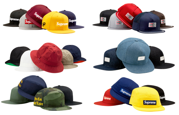 """Supreme Hats """"Spring Summer 2011"""" Collection  eefb7959eb2"""