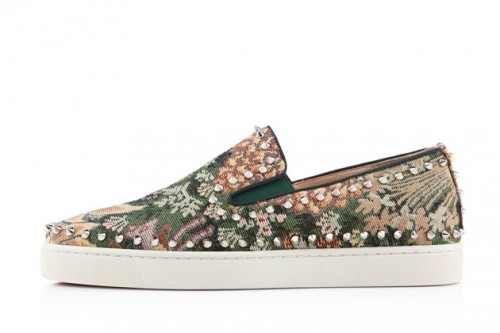 "Christian Louboutin Pik Boat ""Tapestry"" 